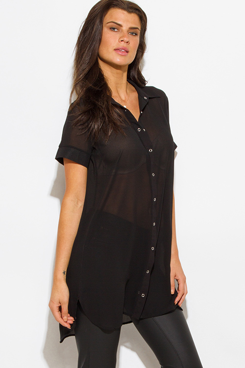 Black Button Down Shirts. Showing 2 of 2 results that match your query. Search Product Result. Product - Devon & Jones Women's Pima Pique Polo Shirt, Style DW. Product Image. should review the Terms & Conditions for a more detailed description as well as service limitations prior to signing up for ShippingPass.
