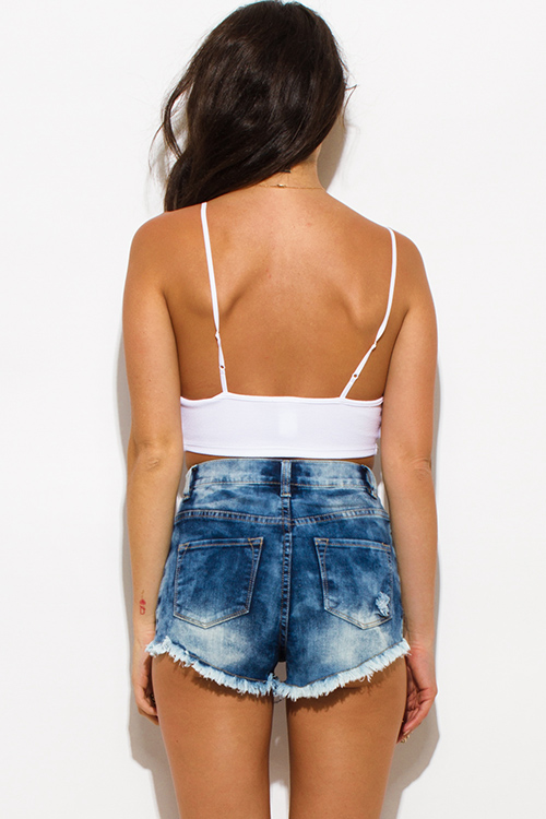 Shop womens shorts cheap sale online, you can buy black shorts, denim shorts, high waisted shorts and cut off shorts for women at wholesale prices on eskortlarankara.ga FREE shipping available worldwide. Distressed High Waist Denim Shorts - Jeans Blue - M. Women's Stylish Printing Elastic Waist Shorts - S.