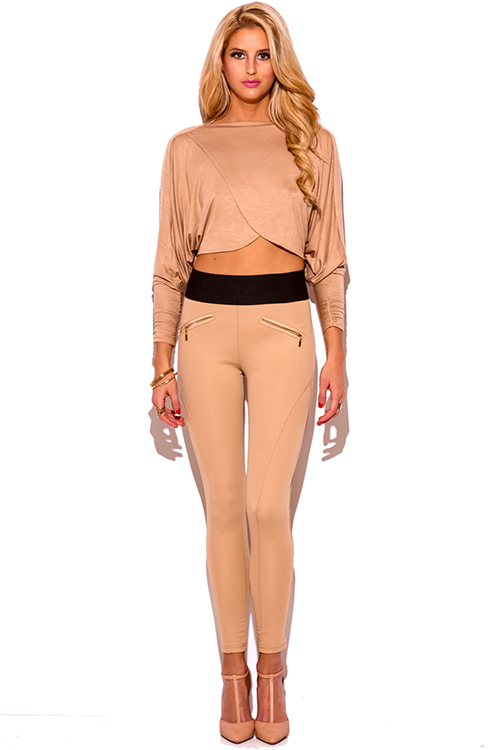 Shop trendy slacks for women, classic striped trouser s, patterned floral pants, ultra-chic high waisted wide leg pants in white or black, or soft harem pants, formerly known as the infamous mc hammer pants! Find all the hottest styles for any occasion!