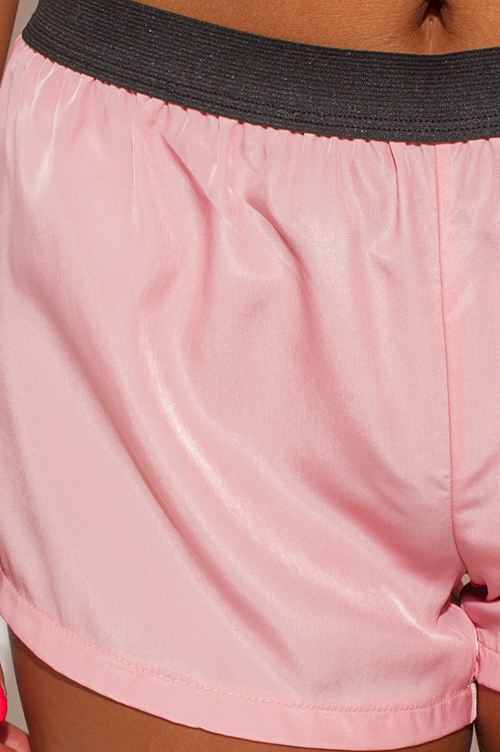 Cute cheap light pink sporty shorts