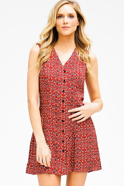 Discount Cheap Price Cheap Sale Low Price Fee Shipping Sleeveless Top - Floral Lines by VIDA VIDA Discount Best Wholesale With Mastercard For Sale Buy Cheap Cheap L4HnZPVqI