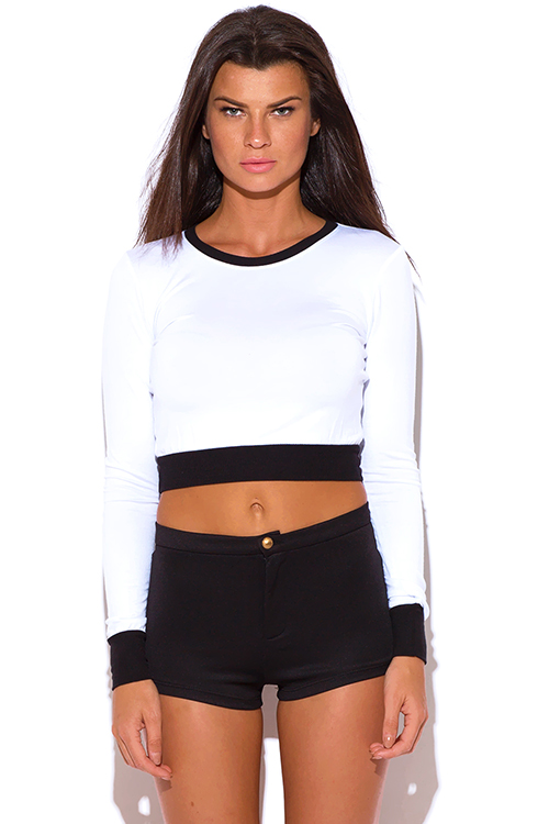 Fitted crop tee