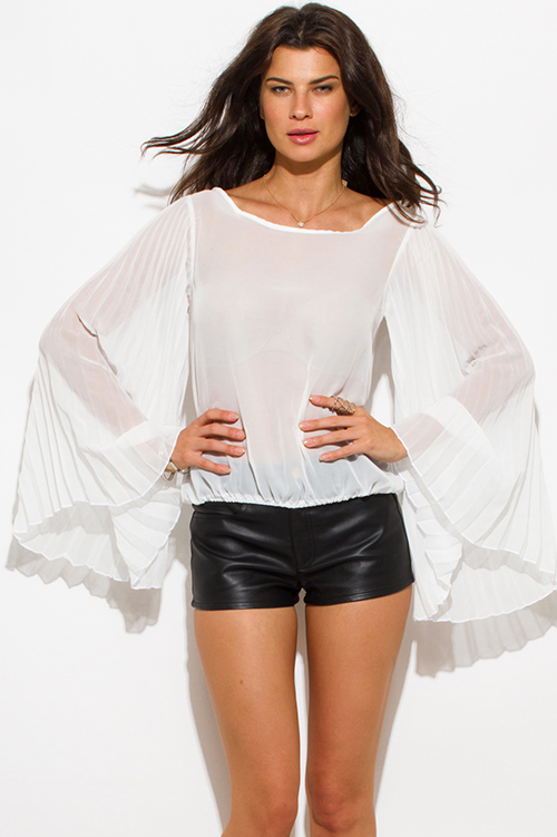 Find sheer white long sleeve at ShopStyle. Shop the latest collection of sheer white long sleeve from the most popular stores - all in one place.