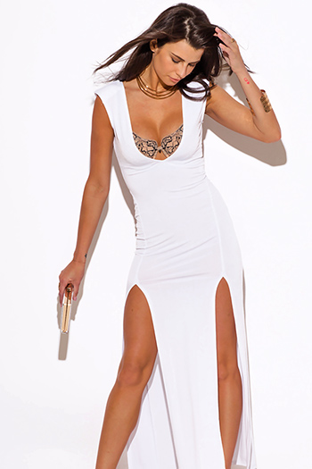 cheap all white dresses - Dress Yp