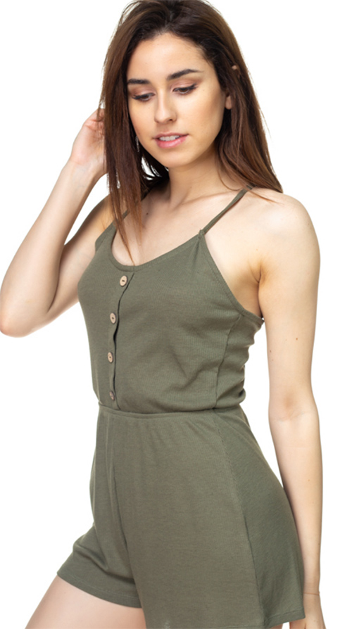 Cute cheap Back Tie Strap Romper