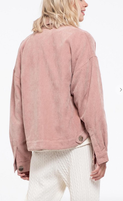 Cute cheap corduroy jacket
