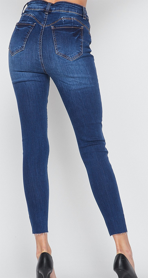 Cute cheap high rise ankle skinny pants