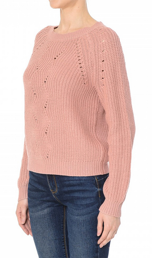 Cute cheap jacquard pointless sweater