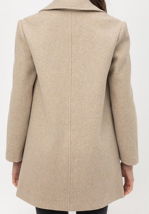 Cute cheap jq fleecesingle breasted coat