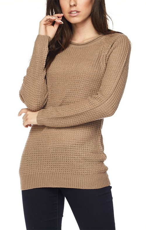 Cute cheap long sleeve pullover sweater top