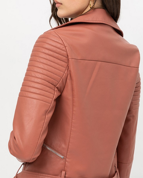 Cute cheap non-stretch pu jacket