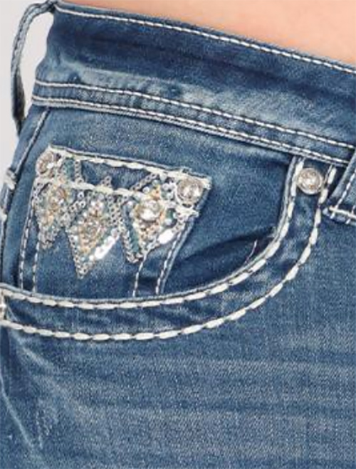 Cute cheap premium embellished quality jeans