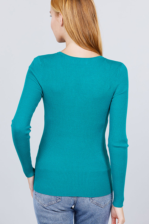 Cute cheap viscose henry sweater