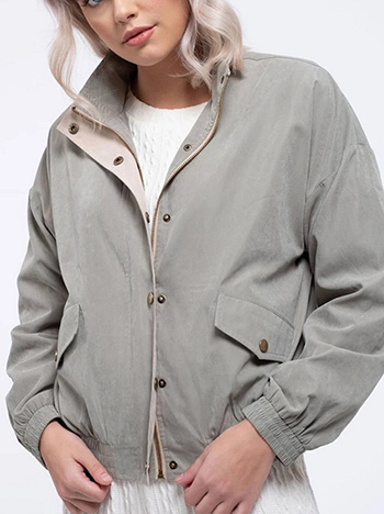 $29.75 - Cute cheap contrast light weight jacket