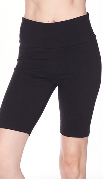 $9.50 - Cute cheap high waist knit bike shorts