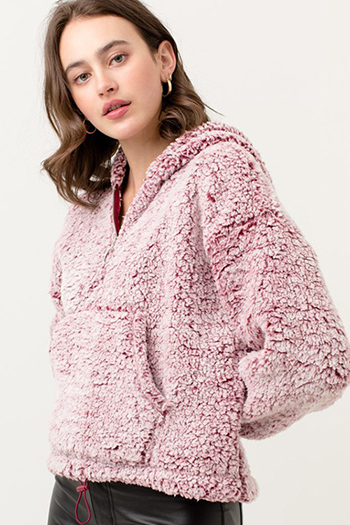 $24.50 - Cute cheap light weight sherpa hoodie jacket