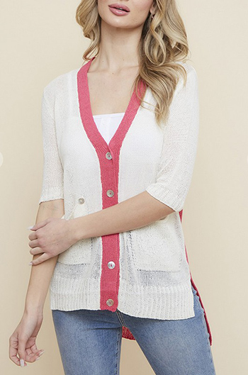 $13.50 - Cute cheap lightweight sweater short sleeve Cardigan