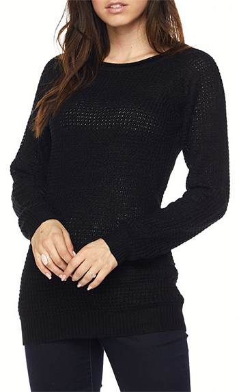 $15.50 - Cute cheap sweater top - long sleeve pullover sweater top