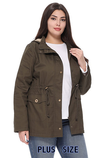 $29.50 - Cute cheap MILITARY JACKET WITH FUR INSIDE