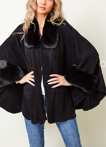 $27.50 - Cute cheap FAUX FUR COAT
