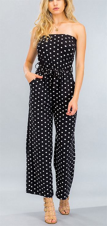 $13.50 - Cute cheap clothes - palazzo jumpsuit