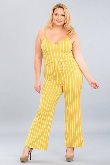 $24.50 - Cute cheap plus size wide leg cami jumpsuit