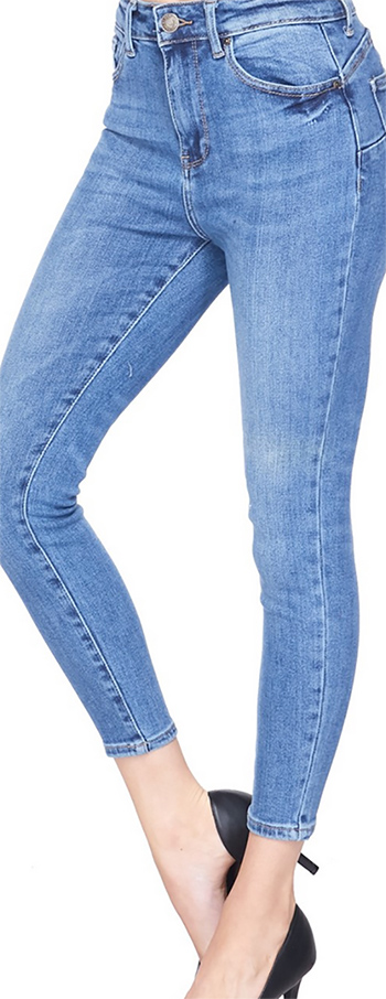 $27 - Cute cheap push up vintage inspired classic denim pants