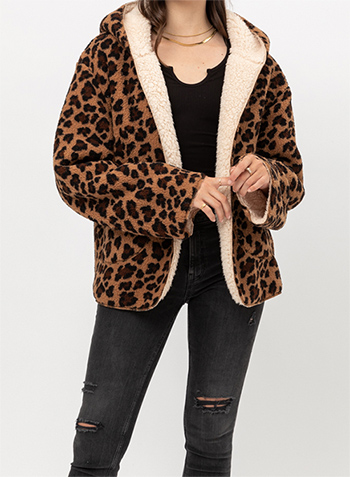 $37.00 - Cute cheap Reversible Sherpa Jacket