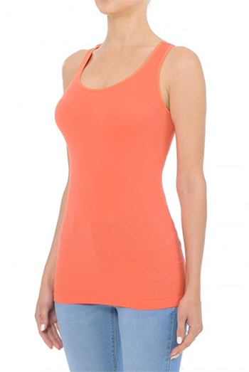 $6.50 - Cute cheap seamless racerback tank top