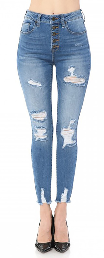 $24.50 - Cute cheap skinny jeans - skinny denim dtretch pants