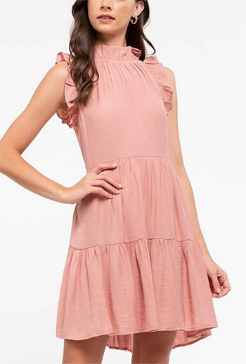 $17.50 - Cute cheap dress - solid back the knit dress