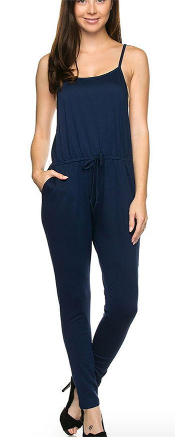 $17.50 - Cute cheap urban - solid terry jumpsuit.
