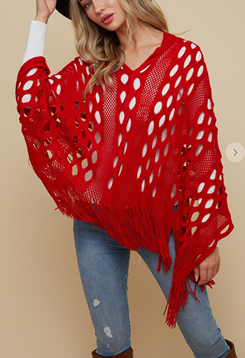 $17.50 - Cute cheap clothes - Sweater Poncho.