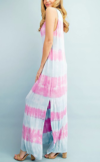 $42.75 - Cute cheap Tie Dye Maxi Dress