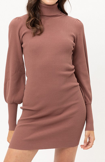 $23.25 - Cute cheap turtleneck sweater dress