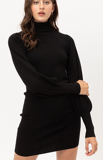 $23.25 - Cute cheap fall - turtleneck sweater dress